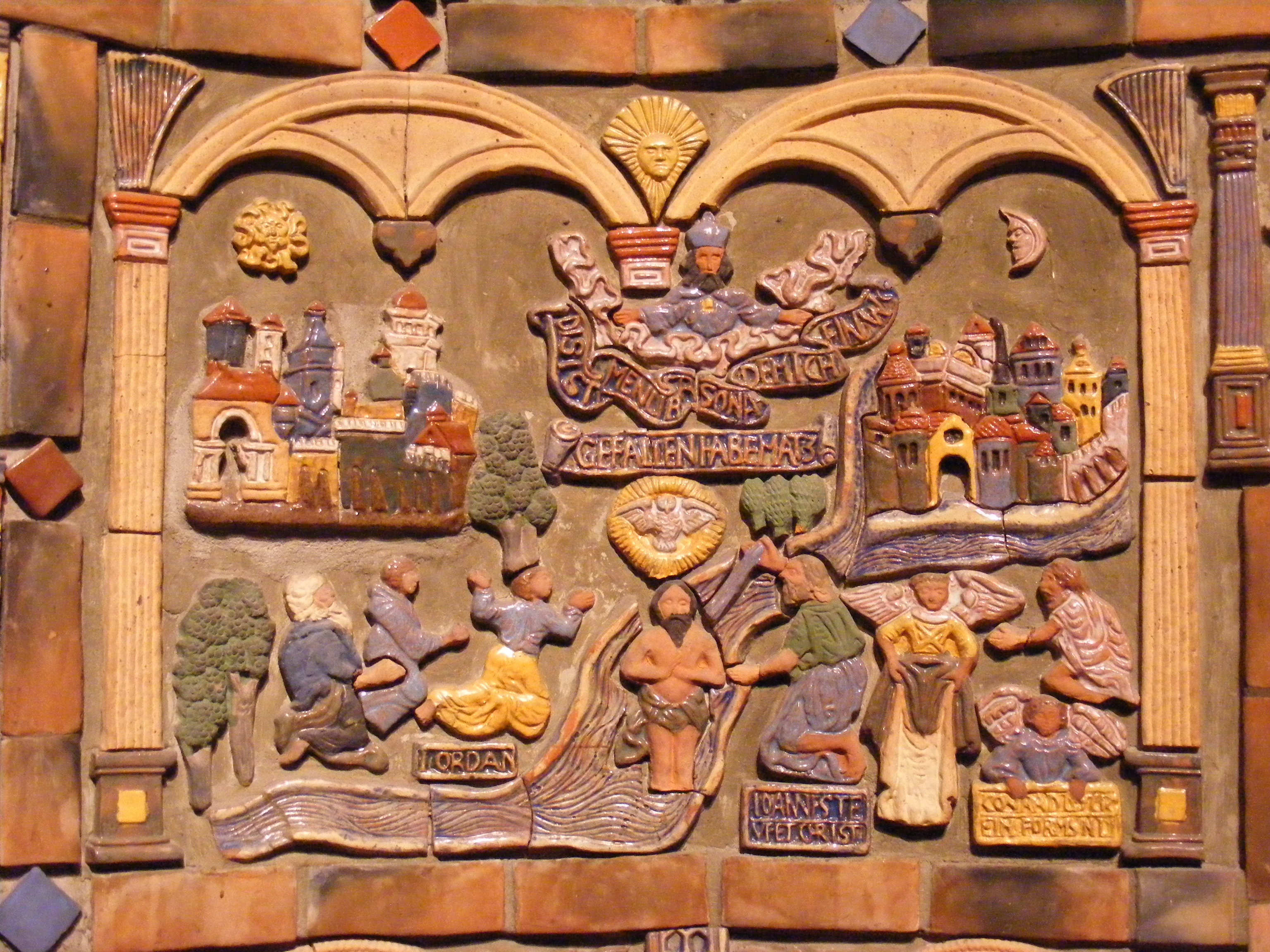Mercer Tile Works : Mercer and his moravian tiles amyfrankiesmith